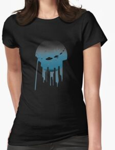 Alien Sighting Womens Fitted T-Shirt