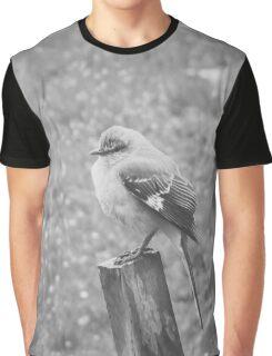 The Bird Black and White Graphic T-Shirt