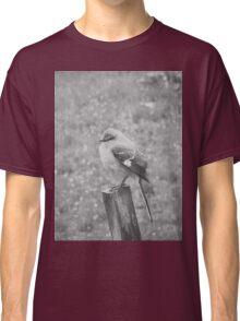 The Bird Black and White Classic T-Shirt