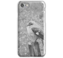 The Bird Black and White iPhone Case/Skin