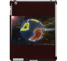 the world on your shirt iPad Case/Skin