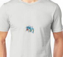 Gyarados Sprite - Pixelart Unisex T-Shirt
