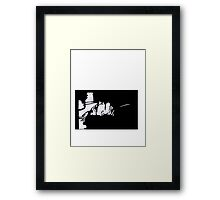Art Noir Murder Framed Print