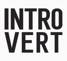 Introvert bold print by Samuel Rollings