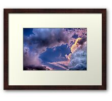 Arches In The Sky Framed Print