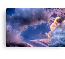 Arches In The Sky Canvas Print