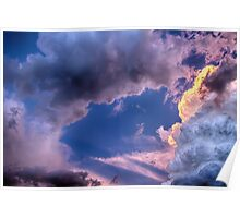 Arches In The Sky Poster