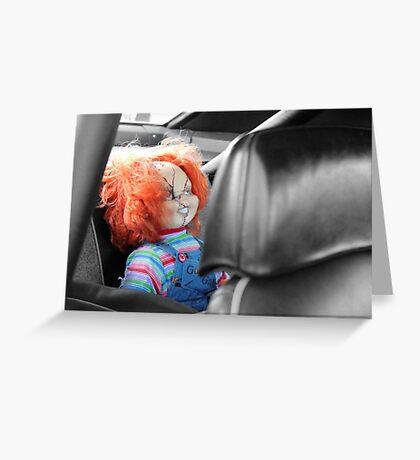 Backseat Driver Greeting Card