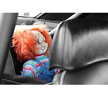 Backseat Driver Photographic Print