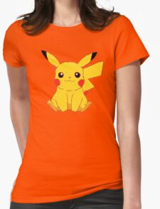 Pika Pikachu Womens Fitted T-Shirt