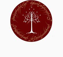 White/Burgundy Tree of Gondor Unisex T-Shirt