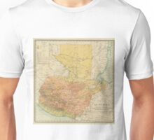 Vintage Map of Guatemala (1902) Unisex T-Shirt