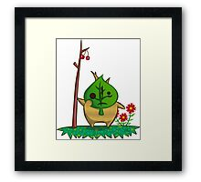 Animal Crossing Wind Waker Crossover Framed Print