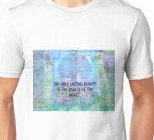 Rumi heart quote Unisex T-Shirt