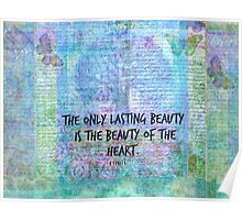 Rumi heart quote Poster