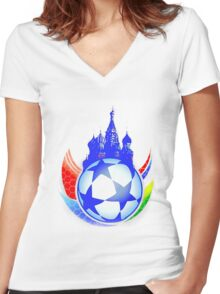 Game Women's Fitted V-Neck T-Shirt