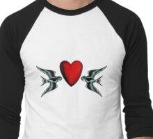 Loyalty and Love Men's Baseball ¾ T-Shirt