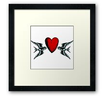 Loyalty and Love Framed Print
