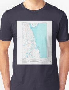 USGS TOPO Map Alaska AK Nushagak Bay C-3 358217 1950 63360 Unisex T-Shirt