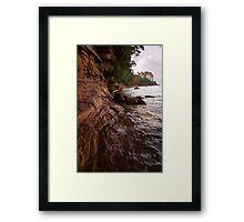 Pictured Rocks Framed Print