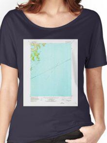 USGS TOPO Map Alaska AK Seldovia B-1 358792 1953 63360 Women's Relaxed Fit T-Shirt