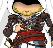 Assassin's Creed 4: Black Flag Edward Kenway Chibi Sticker