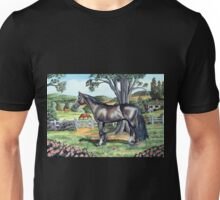 Dark Bay Thoroughbred...(on craft foam) Unisex T-Shirt