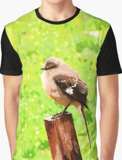 The Bird Painting  Graphic T-Shirt