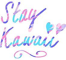 Stay Kawaii Photographic Print