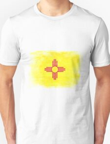 New Mexico State Flag Distressed Vintage Unisex T-Shirt