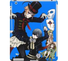 the puppeteer and ciel!  iPad Case/Skin