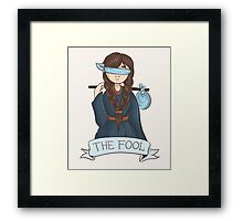 The Fool Framed Print