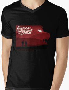 An American Werewolf in London Mens V-Neck T-Shirt