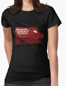 An American Werewolf in London Womens Fitted T-Shirt
