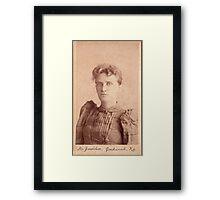 Donetta M. Jones Framed Print