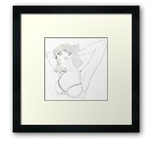 Who Am I? Framed Print