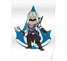 Connor Kenway Chibi: Assassin's Creed 3 Poster