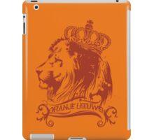 oranje leeuwen iPad Case/Skin