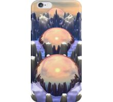 Reflection of Three Spheres iPhone Case/Skin
