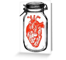 JAR OF HEART Greeting Card