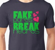 Fake parts – Break hearts (3) Unisex T-Shirt