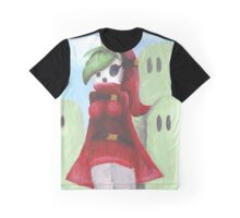 Shy Gal Mario Bros Graphic T-Shirt