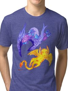 Harpie and the Flying Cat Tri-blend T-Shirt