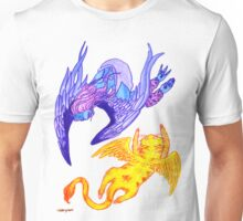 Harpie and the Flying Cat Unisex T-Shirt