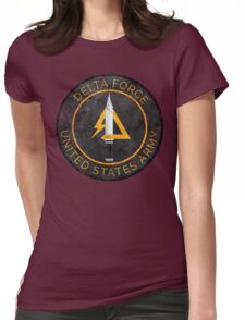 Delta Force Vintage Insignia Womens Fitted T-Shirt