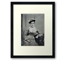 Eva Jones Framed Print