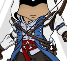 Assassin's Creed 3 Chibi Connor Kenway Sticker