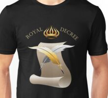 The Royal Decree Unisex T-Shirt