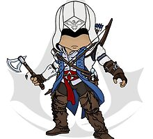 Assassin's Creed 3 Chibi Connor Kenway by SushiKittehs
