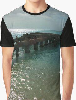 Puerto Rico Dock Graphic T-Shirt